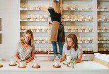 Candlefish Charleston / flagship store and workshop