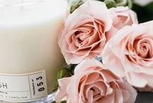 In Bloom / Spring floral scents and gift items from Candlefish.