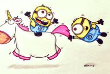 Minions and Unicorns❤️ / I Love them both soooo much