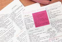 Studying // School