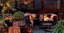 Outdoor living / Flowerbeds, backyards