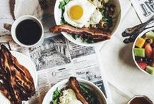 Brunch / Brunch, glorious brunch.  Who doesn't love to sit down to a mix of savory and sweet in the late hours of the morning?  A board dedicated to breakfast recipes, brunch ideas and that cozy feeling you get when you gather at 11am / by Coryanne Ettiene
