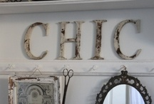 shabby + chic / by Connie Inman Somero
