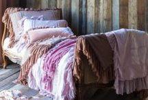 bedrooms, closets & bedding / #bedrooms #closets #bedding #decor / by Connie Inman Somero