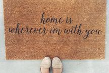 Home is wherever I'm with you / by Ansley Black