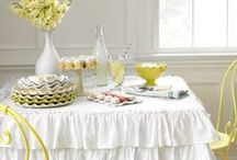 dining rooms / #kitchens #decor #linens #dishes #ideas / by Connie Inman Somero