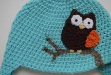Crochet & Knit Caps, Hats, Head-Bands / by Nong Ree San