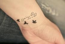 tattoo's / by Nadine Gustilov