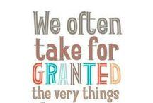 Virtue: Gratitude