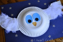 Fall Crafts - OWL