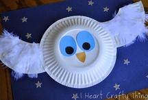 Fall Crafts - OWL
