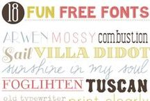 Graphics & Fonts | Free / a hand picked collection of free graphics found on Pinterest / by Coryanne Ettiene