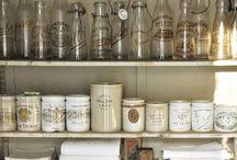 Kitchen Storage / Hoard your kitchen goodies in style with kitchen storage pins. / by Coryanne Ettiene
