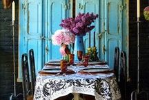 Dining Room / Just say no to eating on the sofa / by Coryanne Ettiene