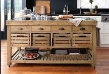 Kitchen Furniture / Dress your kitchen like the goddess she is. / by Coryanne Ettiene