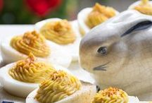 Deviled Egg Recipes! / Deviled eggs are a great appetizer all year round, for holidays and potlucks!