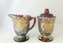 """Carnival, Iridescent & Stretch Glass Vintage / Antique"" by GotVintage Shops / Vintage Carnival, Iridescent and Stretch Glass from Antique to the 1980's"