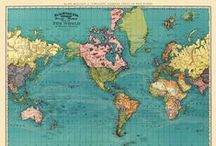↠ VINTAGE MAPS