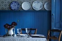Blue / Blue..bold, soft, cool and muted blue in every color to inspire tranquility.