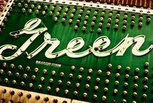 Green / Green in every shade to inspire the freshness that only green can offer.