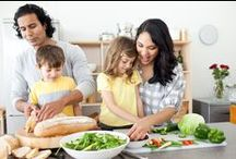 Healthy Living Tips for Kids / Teach healthy eating habits to kids at an early age! Plus, make sure kids get at least 60 hours of physical activity per day. Tips to help parents, teachers and caregivers... / by Kids Eat Right