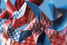 4th of July / Recipes, projects, parties and decor to inspire a grand celebration of the 4th of July.