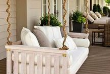 Front Porch Living / Sit, swing, lounge, and watch the world go by on a dreamy front porch.