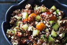 Quinoa Recipes! / Follow this board for great ideas of recipes that feature quinoa, naturally low carb, high protein, and gluten free! / by Elise | Simply Recipes