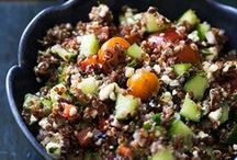 Quinoa Recipes! / Follow this board for great ideas of recipes that feature quinoa, naturally low carb, high protein, and gluten free!