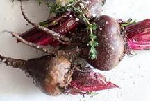 Beets / Jewel toned goodness that makes your mouth water and your tastebuds dance.  Beet recipes for every home cook.