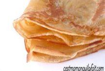 CREPES - PANCAKES / Les meilleurs recettes de crêpes - Best ever crepes recipes and pancakes too !