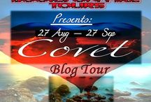 COVET by Tina Traverse BLOG TOUR / Presenting the Blog Tour of Covet by Tina Traverse  27 August to 27 September