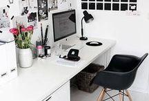 [ DECO ] Coin bureau / Parce que je rêve d'avoir, un jour, mon petit coin bureau...