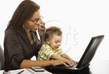 Work-at-Home Moms / Resources and laughs for the work-at-home-mom.