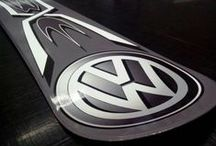 VW flyers and pics / Stickers, brands, flyers en just stuff / by John Vd Geest