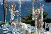 Beach Wedding Tablescapes / #Beach #Wedding #Tablescapes and #Decorations that are breath taking. Visit us at https://www.sandimentalmemories.com #sandimentalmemories