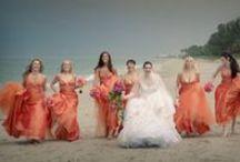 "Hues of ""Coral"" Wedding Ideas / If you love #Coral than you will love our coral #wedding ideas. Visit us at www.sandimentalmemories.com #sandimentalmemories"