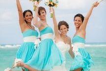 "Hues of ""Aqua/Turquoise"" Wedding Ideas / If you love #Aqua than you will love our aqua #wedding ideas. Visit us at www.sandimentalmemories.com #sandimentalmemories"