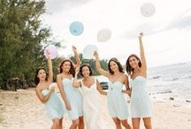 "Hues of ""Soft Blue"" Wedding Ides"