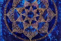 Sacred mandalas & zentangle