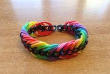 Bijoux en elastique / bracelet elastique, loom bracelet tuto