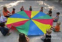 Buitenspelen: kleur!! / Buitenspelen