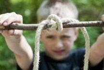 Buitenspelen: touw / Buitenspelen