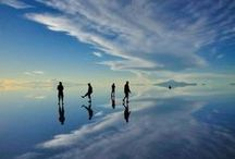 Salar de Uyuni / Travel to the world's largest salt flat located in southwest Bolivia and explore the 10,582 square km with Travel Store Bolivia! See what the tour entails at: http://bit.ly/1C87HDy