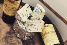 Perfect Pairings / Paring delicious artisan cheeses with their partner in wine.