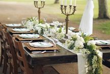 COMPASS  { table Inspiration } / Eat, Drink and be Married...in style