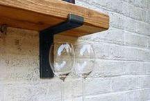 Floating Shelves / Open Shelves / Different wooden shelving, for everybody's needs...