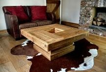 Wooden Coffee Tables / A range of unique Coffee, Dining Room & Side tables to fit any room...basically any tables you would find in a home, enjoy guys!