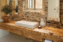 Modern Wooden Bathrooms / A room that always needs to feel peaceful