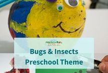 Bugs and Insects Preschool Theme / A Bugs and Insects Theme page with loads of free activities for all the interest centers in your preschool classroom!  Check out all of my activities at http://www.preschool-plan-it.com/bugs-and-insects.html